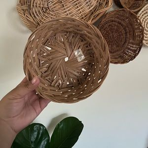 Small basket- perfect for wicker wall decor!